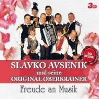 "SLAVKO AVSENIK UND SEINE... ""FREUDE AN MUSIK"" 3 CD NEU"