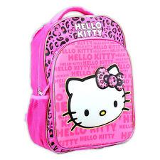 Pink Leopard Girl's Hello Kitty 3D Eva Molded Backpack School nap bag Sanrio