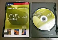 Lower Body Conditioning Focus Yoga Pilates Balance Ball Fit Deluxe Fitness DVD