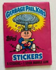 1985 Topps Garbage Pail Kids Original Series 1 Unopened Wax Pack -NO 25¢ Glossy