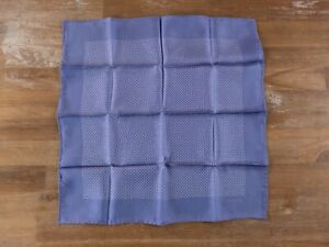 TOM FORD blue mini polka dots silk pocket square authentic