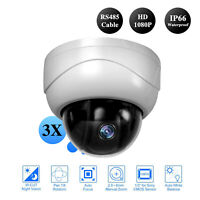 2.0MP PTZ 3Axis MINI Speed Dome Camera IR 15m Night Out/Indoor Security CCTV