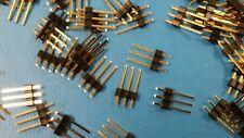 "(50) SL1-003-S140/03-11 3 Pin Single Row Vertical Header .100"" (2.54mm) spacing"