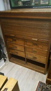 ancien meuble a 10 tiroirs