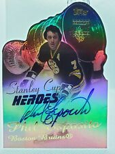 PHIL ESPOSITO 2001-02 TOPPS STANLEY CUP HEROES BOSTON BRUINS AUTO AUTOGRAPH