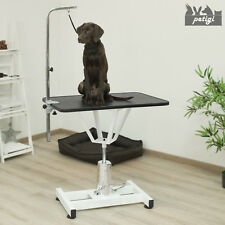 Hunde Trimmtisch Schertisch Pflegetisch für Hundepflege Höhenverstellbar Petigi