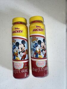 Lot Of 2 Disney Junior Mickey Mouse Bubbles New