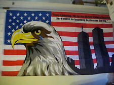 """9-11 3'x5' Polyester Flag """"A MUST SEE""""! DELUXE"""
