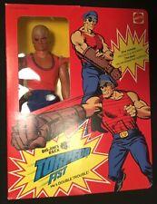 Mattel Big Jim TORPEDO FIST P.A.C.K. MIB variant shirt -factory sealed 1975 WOW!