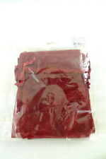 10 Sheer Organza POUCHES BAGS Burgundy/Wine Party Favor Gifts