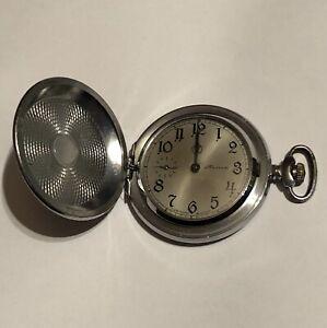 Vintage pocket Watch MOLNIJA SOVIET USSR Молния карманные часы