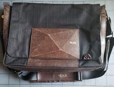 Dror for Tumi Messenger Bag Slim Dark Brown/Black 68712ONX