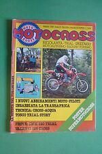 MOTOCROSS 2 FEBBRAIO 1980 PROVA SWM 320 TRIAL VALENTI 125 CROSS LA TRANS-AFRICA