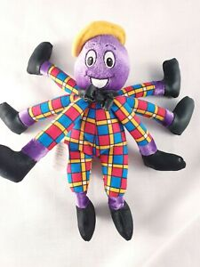 The Wiggles Henry The Octopus 21cm Plush Toy 2003 Spin Master