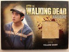 Cryptozoic Walking Dead Season 2 Costume M36 Glenn Wardrobe Trading Card