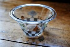 Bowl Clear Scandinavian Art Glass