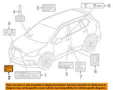 Chevrolet GM OEM 10-11 Camaro Label-AC A/C Sticker 20972749