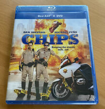 (New) Chips (Blu-ray Disc, Dvd, 2017) (Sealed) Dax Shepard, Michael Pena