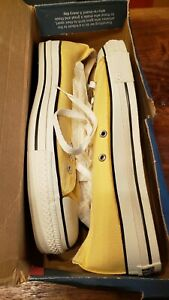 Made in USA! Vintage Late 90's New Old Stock never laced wbox Converse All-Star