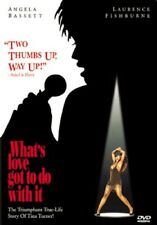 What's Love Got to Do With It? Tina Turner Story (DVD, 1999) Angela Bassett NEW