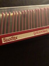 Sizzix Sizzlits Girls Are Wierd Alphabet Die Set 35 Dies Letters Numbers Pink