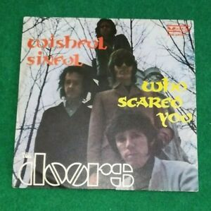 THE DOORS  -  Wishful Sinful / Who Scared You - 45 giri VEDETTE 1969