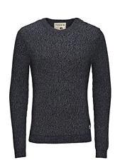 JACK & JONES Herren-Pullover aus Baumwolle mit regular Länge