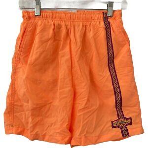 Vintage 80s Gotcha Swim Trunks Neon Orange Mens Size 28 vtg surf shorts board