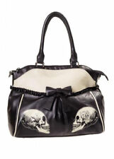 Banned Apparel Parallel Universe Skeleton Skull Gothic Purse Handbag BBN7049