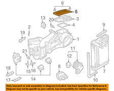 VW VOLKSWAGEN OEM 01-05 Passat-Cabin Air Filter 1H0819644B