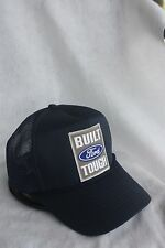 FORD BUILT TOUGH TRUCKERS HAT ADJUSTABLE SNAP SIZING, COLOR NAVY BLUE