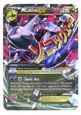 Pokémon Individual Card Mega EX Latios 59/108 with Card Sleeve and Box Case