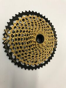 SRAM XX1 Eagle XG-1299 Cassette - 12-Speed - 10-50t Gold For XD Driver Body,NICE