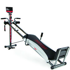 TOTAL GYM 60+ EXERCISES Cardio Strength Training Machine Home Workout No Assembl