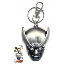 X-Men Marvel Wolverine Head Pewter Keychain