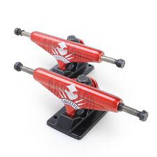 Skateboard Trucks High Quality 7.5 Mid Profile Pavoz Red Black 1 Pair