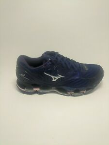 Mizuno Wave Prophecy 8 Womens Running Shoes Blue Silver Pink US 8 Amputee