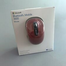 Microsoft PN7-00011 Bluetooth Mobile Mouse - Dark Red