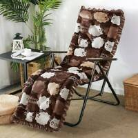 Sun Lounger Cushion Outdoor Garden Patio Recliner Thick Spare Replacement Padded