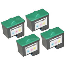 4PK Remanufactured 10N0227 for Lexmark #27 Color X1150 X1185 X2250 X1100 X1270