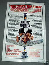 1sh poster GREAT TRAIN ROBBERY Sean Connery