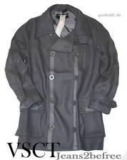 long Jacket by VSCT Jacke *Clubwear Mantel* kurz Mantel *Coat grau* Gr.S *Neu