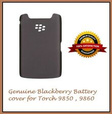 Genuine BlackBerry BATTERIA COVER TELEFONO CELLULARE NERO Torch 9850 9860
