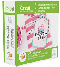 *New* HEIDI SWAPP FONT PHRASES & ICONS Cricut Cartridge Factory Sealed Free Ship