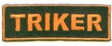 Triker Bar Embroidered Biker Patch