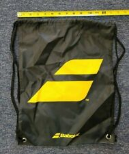 Babolat Black/Yellow Drawstring Bag/Backpack Tennis