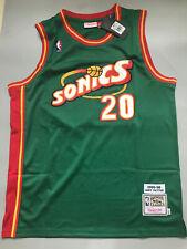 Gary Payton Seattle Supersonics Throwback Swingman Jersey Green Size S-XXL