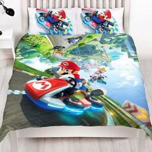 Super Mario Kart Gravity Double Duvet Reversible Bedding Set Nintendo
