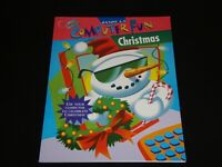 Click-It! Computer Fun Christmas by Lisa Trumbauer - Vintage Activities Book
