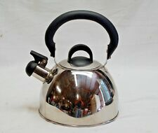 Vintage Style Stainless Steel Whistling Tea Kettle Home Kitchen Tool Kitchenware
